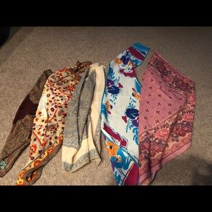 Accessories - 6 Scarf Lot